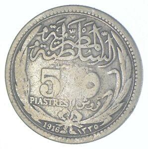 1916 Egypt 5 Piastres - TC *720