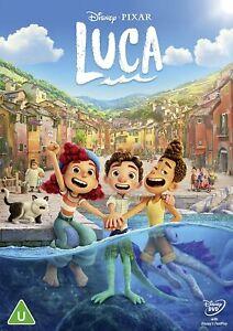 Disney Pixar Luca 2021 (New Sealed DVD)