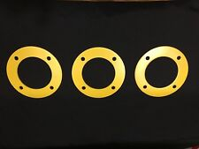"(3) JOHN DEERE 855 72"" BELLY MOWER DECK SPINDLE REENFORCEMENT PLATE JDM153372"