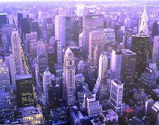 Übersicht ueber Manhattan Poster Kunstdruck Bild 60x80cm