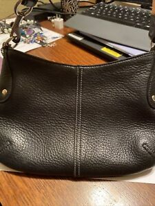 Coach Black Pebbled Leather Purse No. F2P-9604