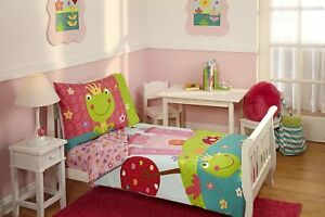 Everything Kids Fairytale 4 Piece Toddler Girl  Bed Set - See Details