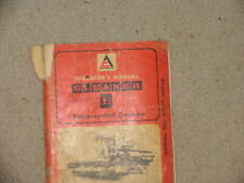 Allis Chalmers Combine L Series Operator's Catalog Manual