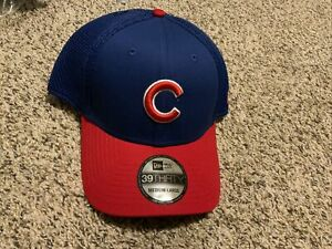 New Era Cap Chicago Cubs 39thirty NEO Hat Blue/Red Men's Size:  M/L