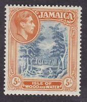 Jamaica - 1938 5s - Mint Hinged (B15H)