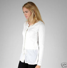 Collarless Tunic Shirt by Sandwich RRP $139.00 Sz L New with Tags