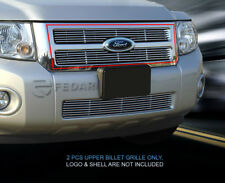 For 08-12 Ford Escape Billet Grille Grill Upper Insert Fedar