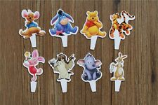 Cake Topper toppers Figure Decoration Birthday Characters - WINNIE THE POOH set