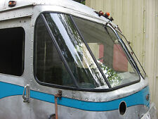 PASSENGER SIDE ONLY..Vintage Grumman Olson Kurbside Step Van repo corner window.