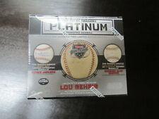 2019 Tristar Hidden Treasures Platinum Autograph Baseball Box Lou Gehrig Rivera