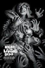 "Night Of The Living screen print by Elvisdead poster 24""x36"" #/100 nt Mondo"