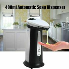 Sensor Soap Dispenser Liquid Sanitizer IR Sensor Automatic Hands Free UK NEW