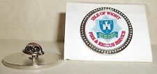 Isle of Wight Fire and Rescue Service Lapel pin badge