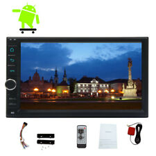 Quad-core No DVD WIFI Double 2din Car Stereo Radio 7'' Android6.0 RDS GPS BT NAV