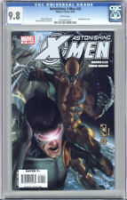 Astonishing X-Men #25 First Printing White Pages Cgc 9.8 Nm/Mt Unscratched