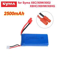 7.4V 2500mAh 25C High Capacity Battery For Syma X8HC X8HW X8HG Drone Quadcopter