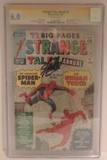 Marvel Comics Strange Tales Annual #2 Signed By Stan Lee CGC 6.0