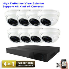 8Ch Network Dvr 1080P 4-in-1 2.6Mp 2.8-12mm Varifocal Lens Security Camera 92*gv
