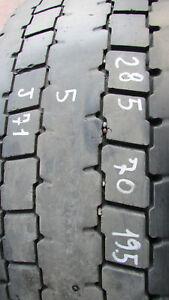 Gomma pirelli tr01usata 285/70 r19.5 pneumatico posteriore j71