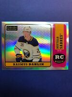 2018-19 OPC Platinum Retro Rainbow Parallel Rookie #R-66 Rasmus Dahlin RC Sbrws