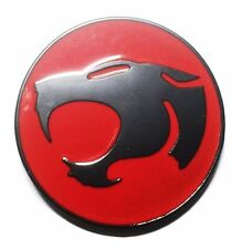 Thundercats Silver and Red Metal/Enamel Belt Buckle
