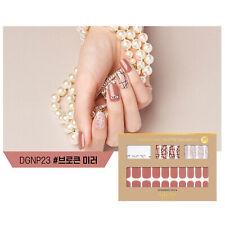 Gloss Gel Nail Strip Manicure 30 Nails Dgnp23 Broken Mirror Nail Art K-Beauty