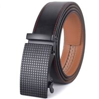 Men Belt Automatic Formal Classic Fashion Business Genuine Leather Buckle Casual
