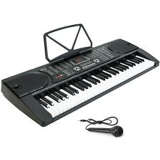 Keyboard With Stand Digital Piano Electric 61 Key Music Organ Electronic Mic
