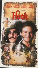 Hook VHS 1991  Comedy Family Robin Williams Julia Roberts Dustin Hoffman