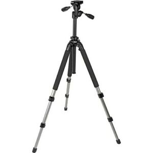 Slik Pro 700 DX Tripod with 700DX 3-Way, Pan-and-Tilt Head 615-315 (Titanium)