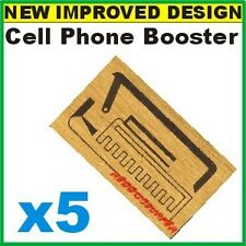 5 x Cell Phone Signal Boosters - The Latest SP-1 Antenna GENERATION X PLUS