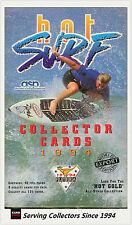 "1994 Futera HOT SURF Trading Card ""EXPORT"" FACTORY BOX (40 PACKS)"