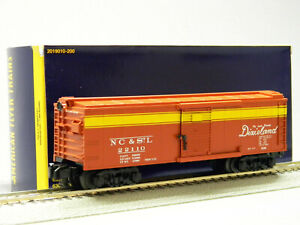 LIONEL AMERICAN FLYER NC&StL FREIGHTSOUNDS BOXCAR S GAUGE stock 2019030 NEW