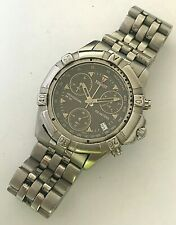 Vintage 38.5mm Tissot Professional Chronograph stainless steel Divers mens watch