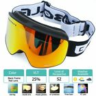 Goggles With Magnetic Double Layer Polarized Lens Skiing Anti-fog Uv400 Goggles