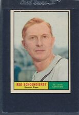 1961 Topps #505 Red Schoendienst Cardinals EX/MT 61T505-21416-1