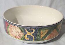 Furio Mesa H097/52 Multi Colored Serving Bowl