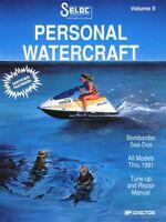 Sea-Doo/Bombardier Jet Ski Repair Manual 1988 - 1991 - SELOC 9000