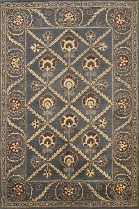 6x8 Traditional Geometric Assorted Oriental Area Rug Wool Hand-tufted Home Decor