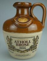 Vintage Atholl Brose Whisky Liqueur Scotland Ceramic Decorative Bottle ZE38