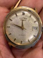 Vintage Vulcain Automatic Wrist  Watch Swiss Made