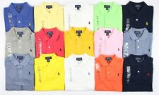 Polo Ralph Lauren Boys Cotton Mesh Polo Shirt Blue White Red Pink - Age 2 3 4 5
