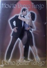 HOW TO DANCE TANGO - How To Dance Tango Como Bailar Tango DVD EXCELLENT / MINT