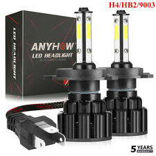 2800W H4 9003 4 sides LED Headlight Bulbs Conversion Kit Hi/Low Beam HB2 56000LM