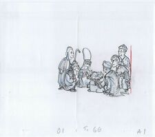 Simpsons Christmas Stories Original Art Animation Production Pencils 12/18/2005