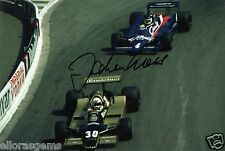 "Former Formula One F1 & Le Man Driver Jochen Mass Hand Sigend Photo 12x8"" A"