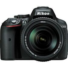 Nikon D5300 Digital SLR Camera - Black w/18-140mm Lens