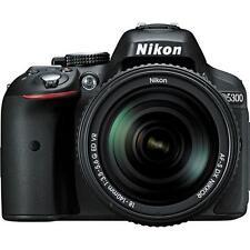 Nikon D5300 Digital SLR Camera - Black w/18-140mm Lens