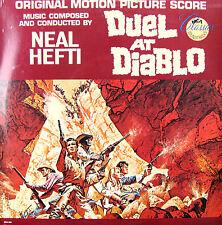 DUAL AT DIABLO 1966 Neil Hefti Original Soundtrack FACTORY SEALED LP