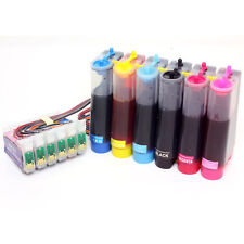Continuous Ink Supply System for Epson Artisan 50 Stylus Photo R260 RX595 RX680